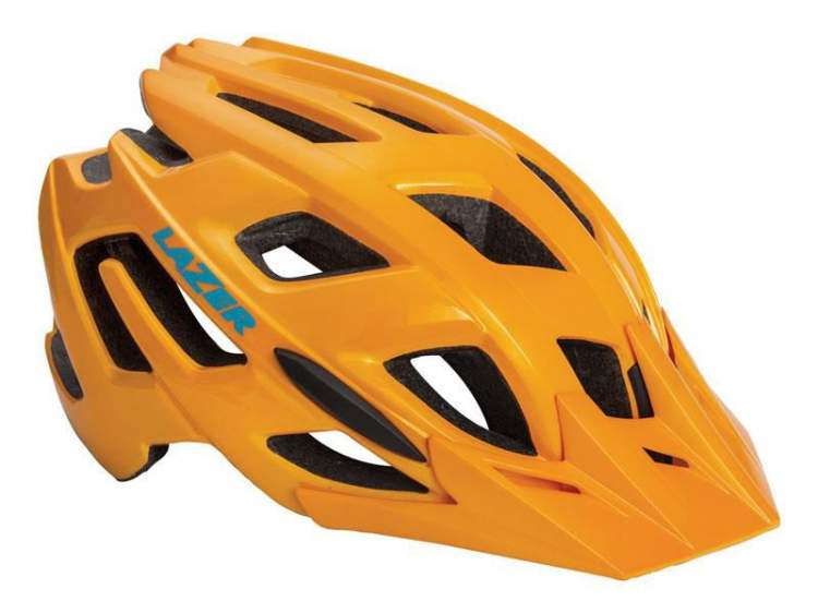Kask mtb LAZER ULTRAX M flash orange 52-57 cm