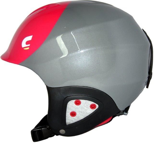 Kask narciarski Carrera N CJ-1 Youth Anthracite Red