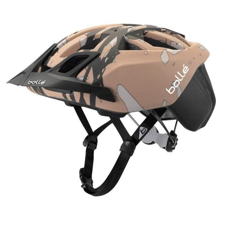Kask rowerowy Bolle The One Road Mtb Black&Brown