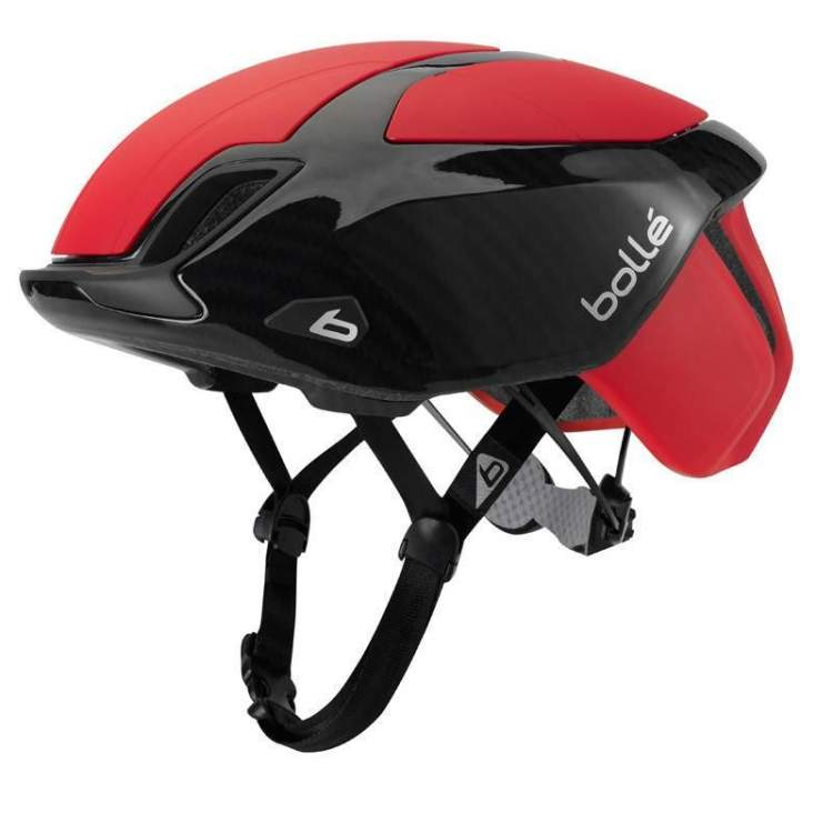 Kask rowerowy Bolle The One Road Premium Red Car