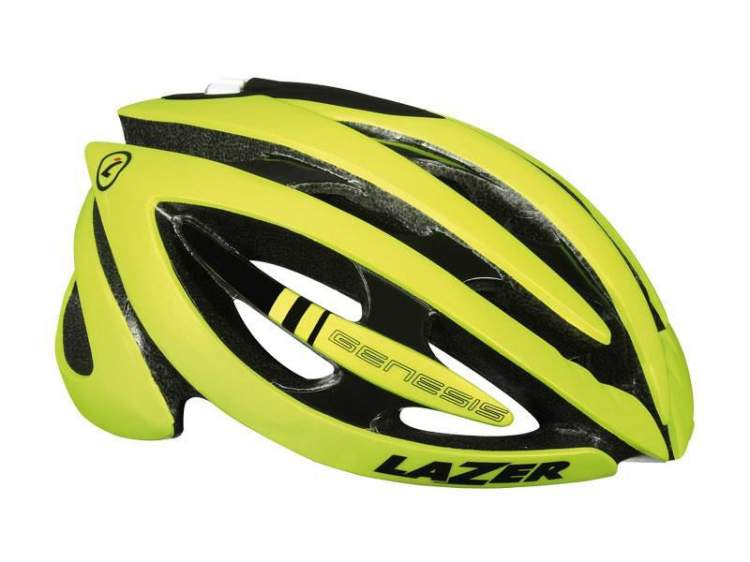 Kask szosa LAZER GENESIS L flash yellow roz.58-61 cm