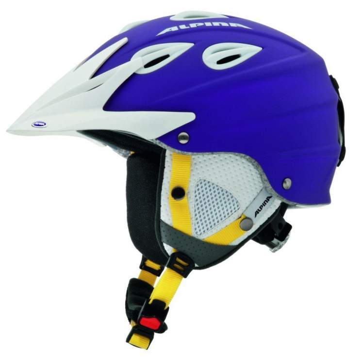 Kask zimowy Alpina Grap Cross purple matt