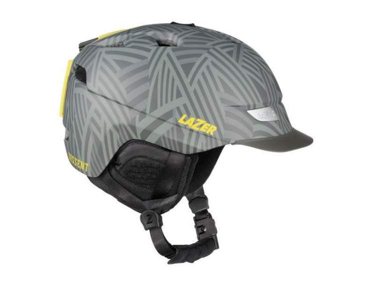Kask zimowy LAZER DISSENT shatter grey matte M (56-59cm)