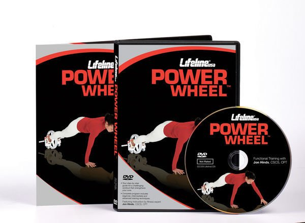 Kółko do ćwiczeń Lifeline USA Power Wheel z DVD