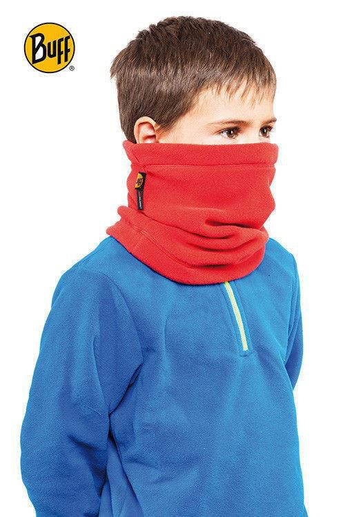 Komin Junior & Child Neckwarmer Polar Buff RED