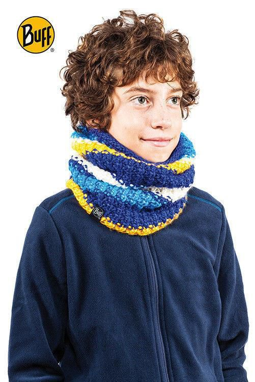 Komin Junior Neckwarmer Buff Knitted Polar URIAN