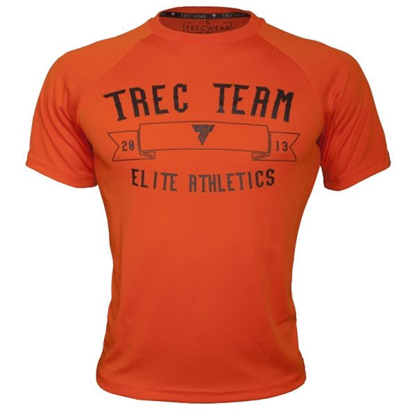 Koszulka Trec Nutrition MEN'S TREC WEAR - COOL TREC 008 - T-SHIRT/ORANGE