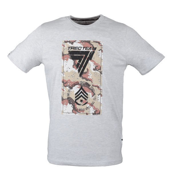 Koszulka Trec Nutrition MEN'S TREC WEAR - DESERT - T-SHIRT 010/GRAY