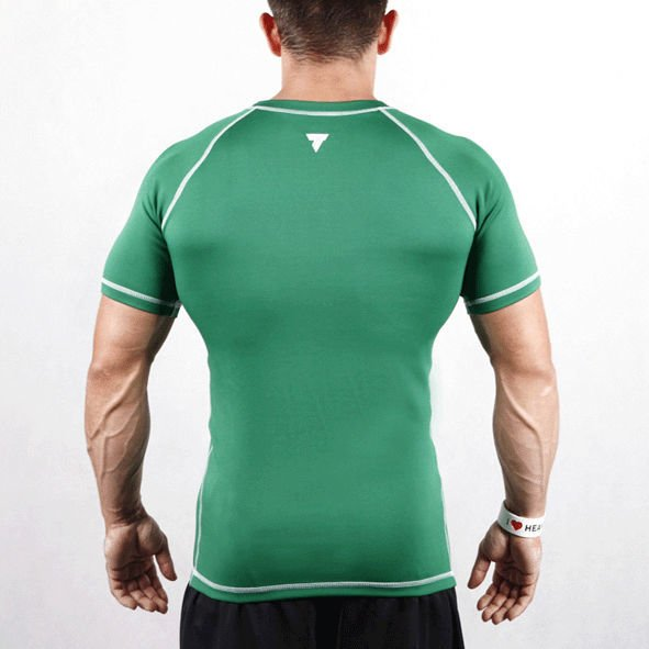 Koszulka Trec Nutrition MEN'S TREC WEAR - RASH 012/GREEN