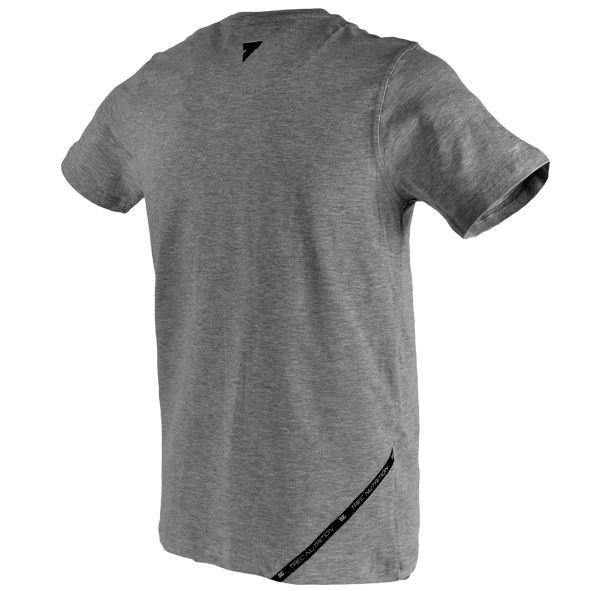Koszulka Trec Nutrition MEN'S TREC WEAR - SPORT STYLE NORTH - T-SHIRT 012/GRAY MELANGE