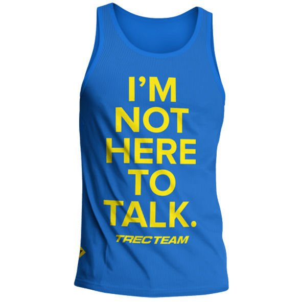 Koszulka Trec Nutrition MEN'S TREC WEAR - TALK - TANK TOP 006/BLUE