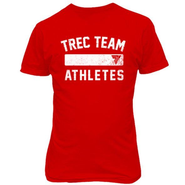 Koszulka Trec Nutrition MEN'S TREC WEAR - TREC TEAM ATHLETES - T-SHIRT 004/RED