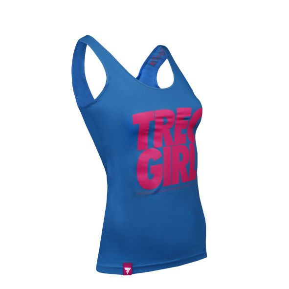 Koszulka Trec Nutrition WOMEN'S TREC WEAR - TANK TOP 003 - TRECGIRL/BLUE