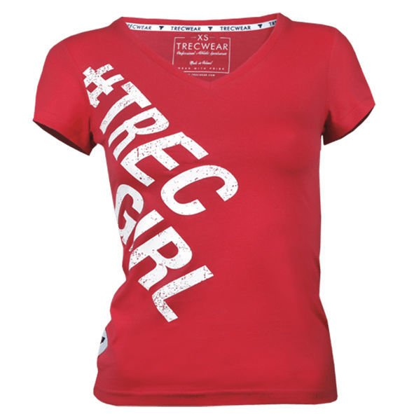 Koszulka Trec Nutrition WOMEN'S TREC WEAR - TREC GIRL 002 - T-SHIRT/PINKY