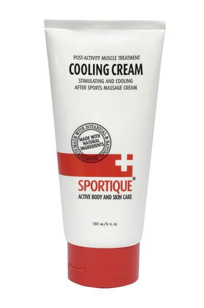 Krem do ciała SPORTIQUE COOLING MASSAGE CREAM 180 ml