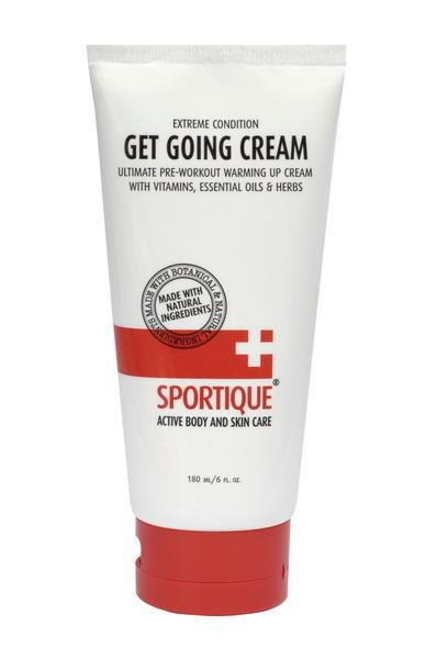 Krem do ciała SPORTIQUE GET GOING - WARMING UP CREAM 180 ml