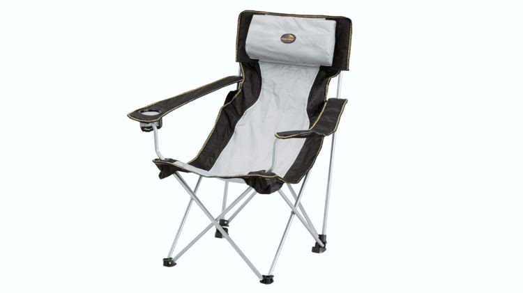 Krzesło Easy Camp Hi-Back Chair Grey