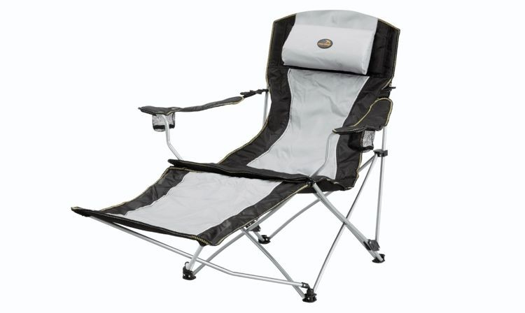 Krzesło Easy Camp Reclining Chair Deluxe Grey