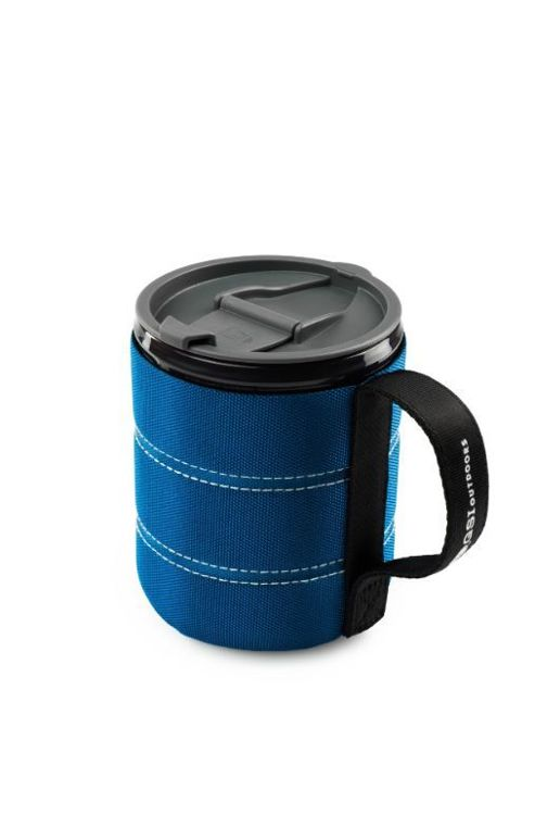 Kubek GSI Outdoors 30 OZ Java Press Blue