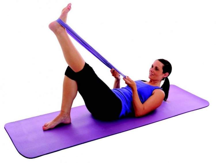 Mata do pilatesu York Fitness