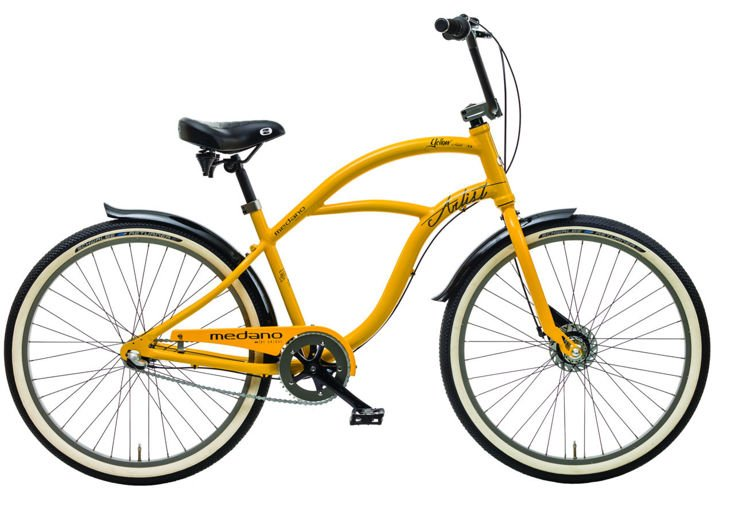 Medano Artist Yellow 26 2016 Rower cruiser