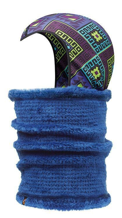 Neckwarmer & Head-Liner Buff KADSU TWILIGHT BLUE