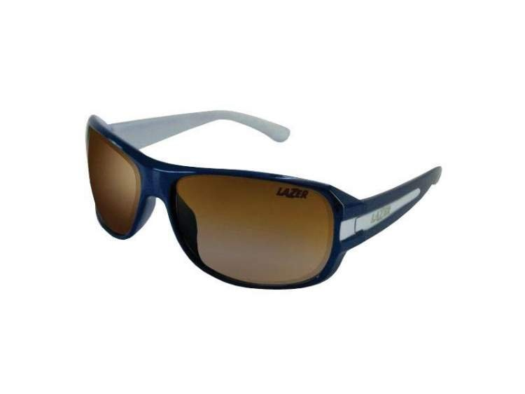 Okulary LAZER QUANTUM blue gloss (Smoke)