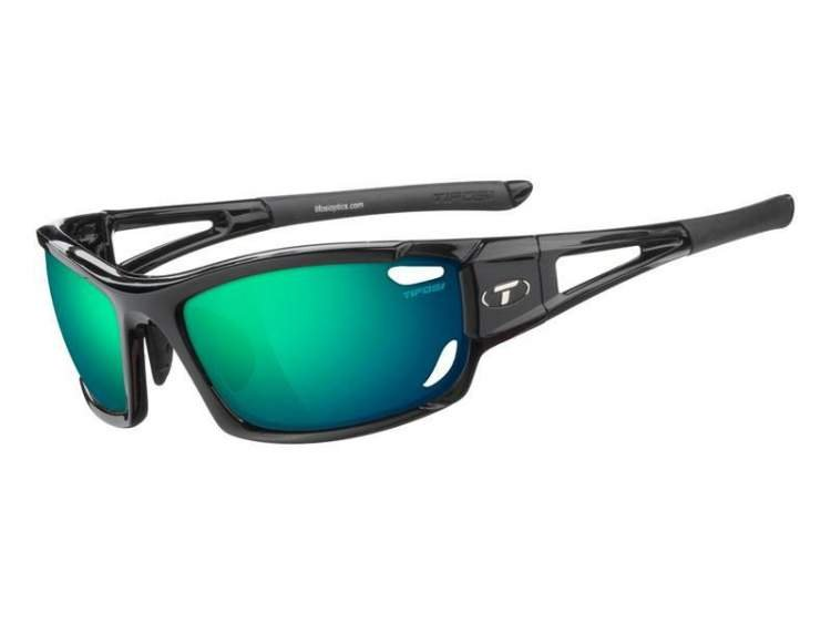 Okulary TIFOSI DOLOMITE 2.0 CLARION gloss black (Clarion Green, AC Red, Clear)