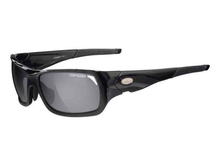 Okulary TIFOSI DURO gloss black (Smoke, AC Red, Clear)