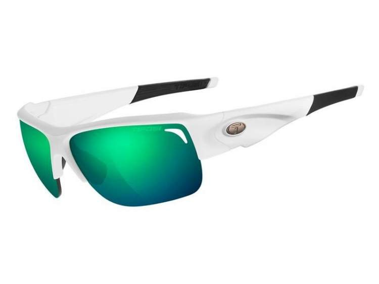 Okulary TIFOSI ELDER CLARION matte white (Clarion Green, AC Red, Clear)