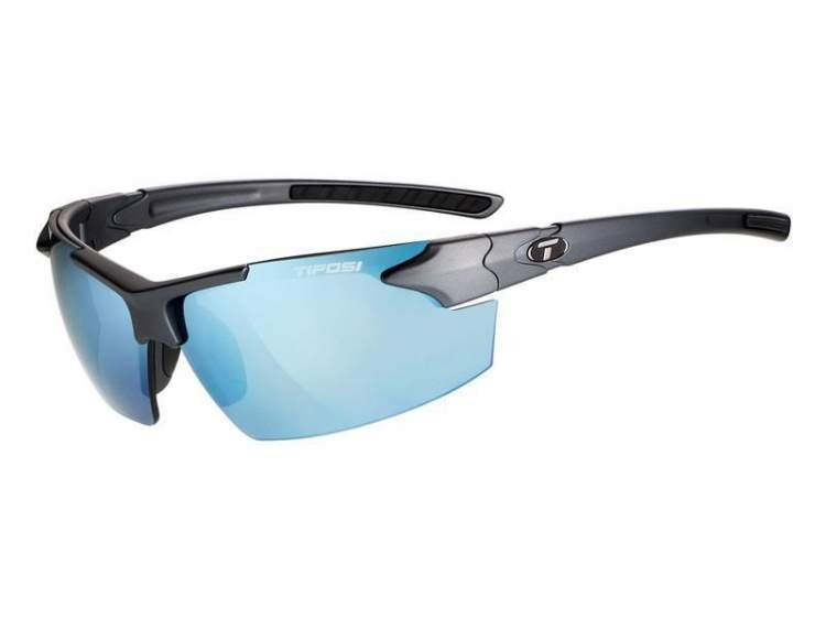 Okulary TIFOSI JET FC matte gunmetal (Smoke Bright Blue)