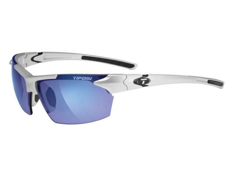 Okulary TIFOSI JET metallic silver (Smoke Blue)
