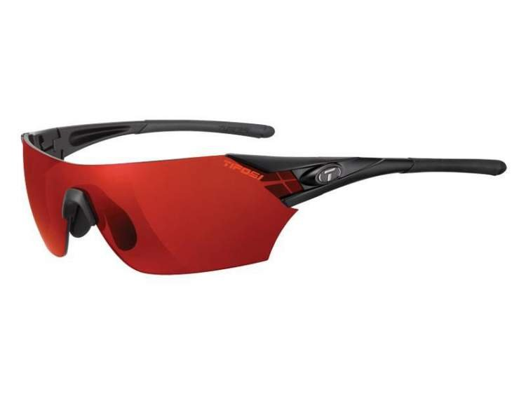 Okulary TIFOSI PODIUM CLARION matte black (Clarion Red, AC Red, Clear)