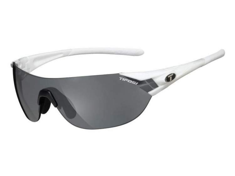 Okulary TIFOSI PODIUM S pearl white (Smoke, AC Red, Clear)