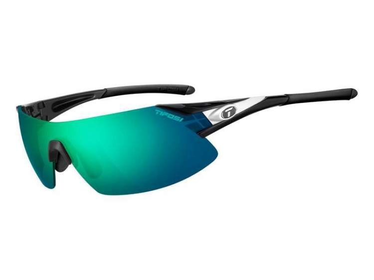 Okulary TIFOSI PODIUM XC CLARION black white (Clarion Green, AC Red, Clear)