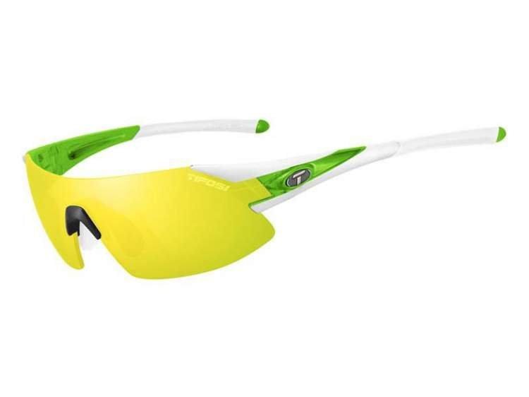 Okulary TIFOSI PODIUM XC CLARION white green (Clarion Yellow, AC Red, Clear)
