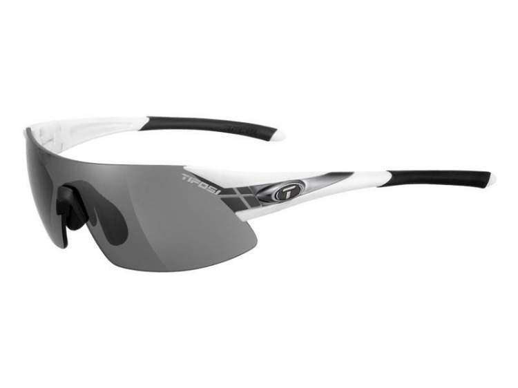 Okulary TIFOSI PODIUM XC white gunmetal (Smoke, AC Red, Clear)