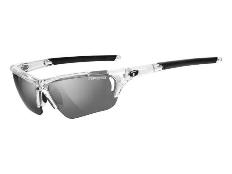 Okulary TIFOSI RADIUS FC crystal clear (Smoke, AC Red, Clear)