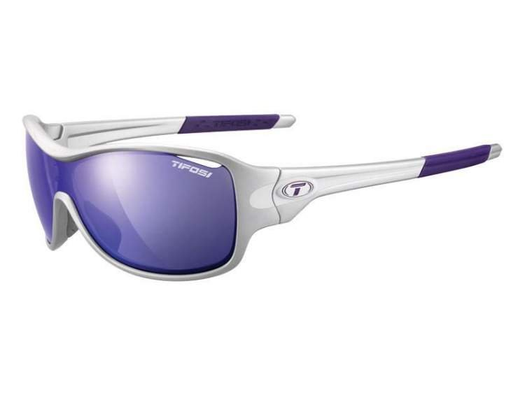 Okulary TIFOSI RUMOR CLARION silver purple (Clarion Purple, AC Red, Clear)