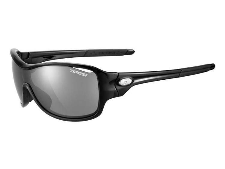 Okulary TIFOSI RUMOR FOTOTEC gloss black (Smoke fotochrom)