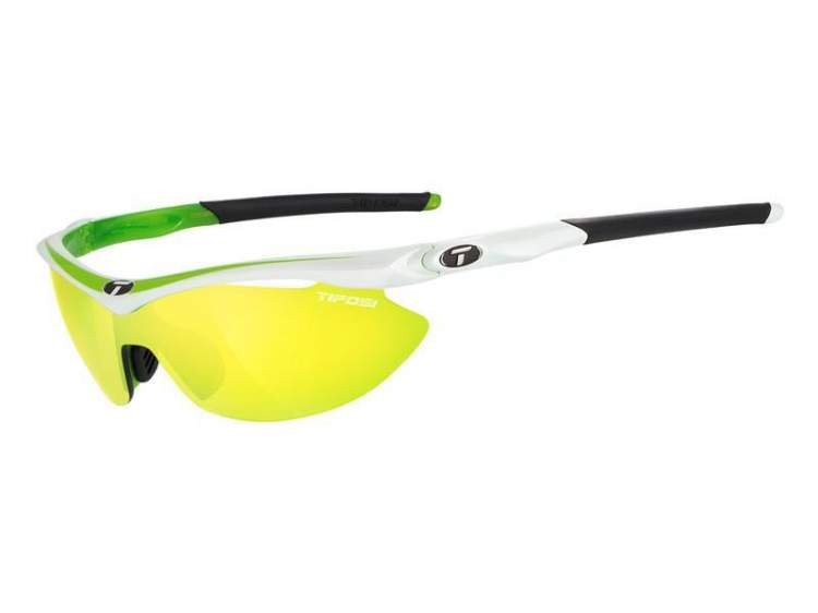 Okulary TIFOSI SLIP CLARION race neon (Clarion Yellow, AC Red, Clear)