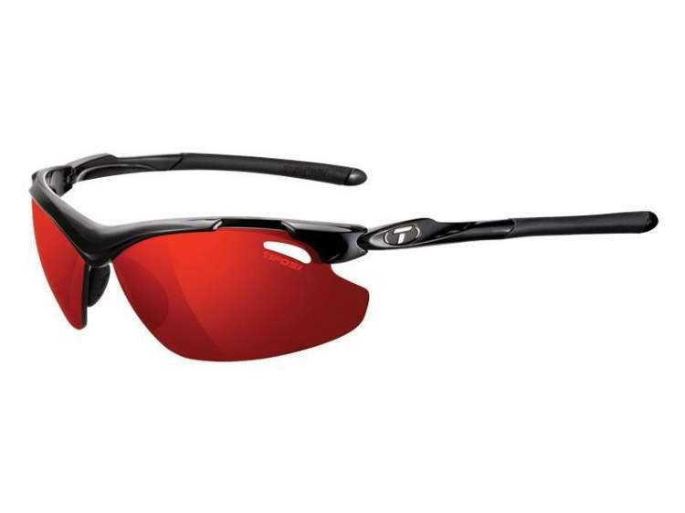 Okulary TIFOSI TYRANT 2.0 CLARION gloss black (Clarion Red, AC Red, Clear)
