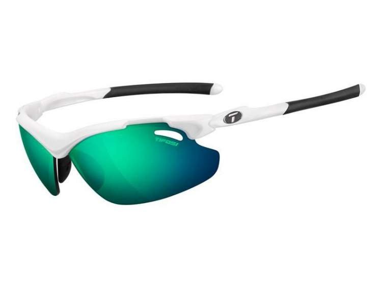 Okulary TIFOSI TYRANT 2.0 CLARION matte white (Clarion Green, AC Red, Clear)