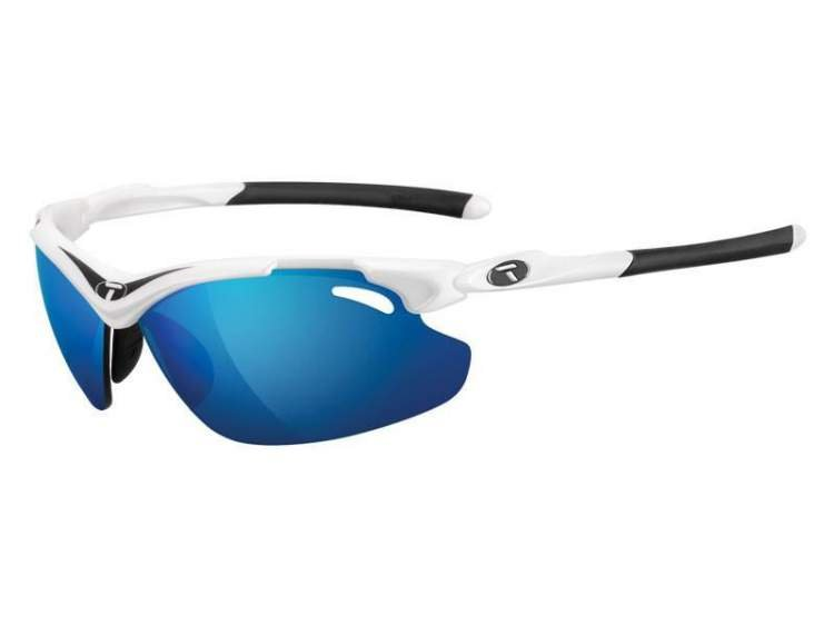 Okulary TIFOSI TYRANT 2.0 CLARION white black (Clarion Blue, AC Red, Clear)