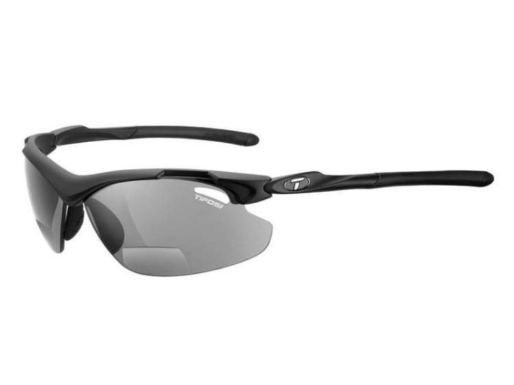 Okulary TIFOSI TYRANT 2.0 READER matte black (Smoke Reader +1,5)