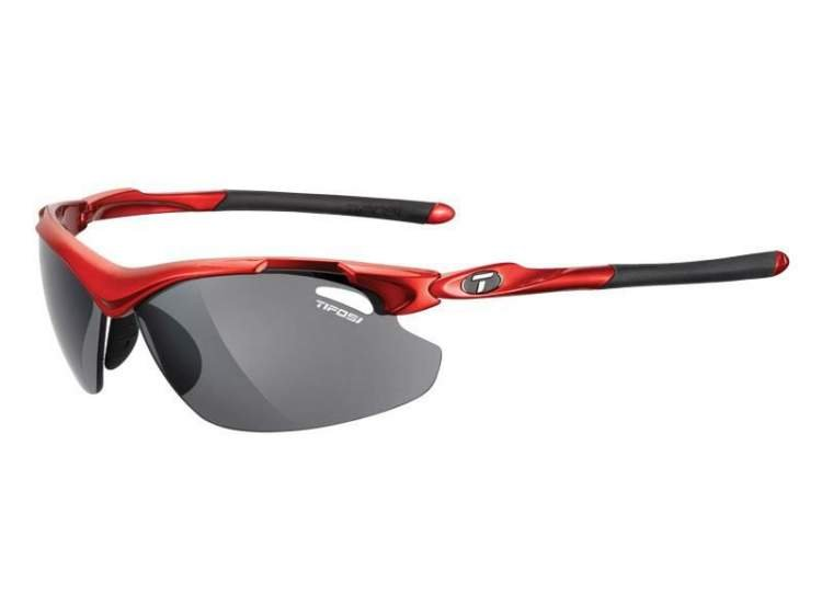 Okulary TIFOSI TYRANT 2.0 metallic red (Smoke, AC Red, Clear)