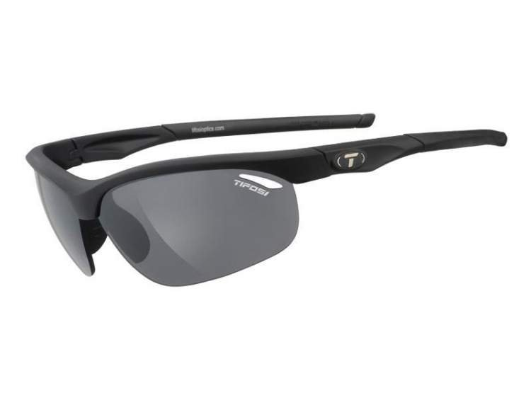 Okulary TIFOSI VELOCE matte black (Smoke, AC Red, Clear)