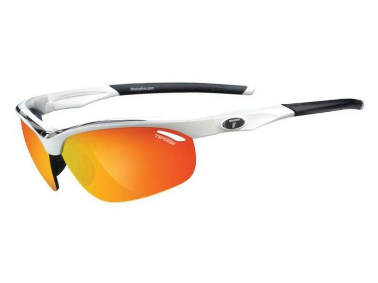 Okulary TIFOSI VELOCE white black (Smoke Red, AC Red, Clear)