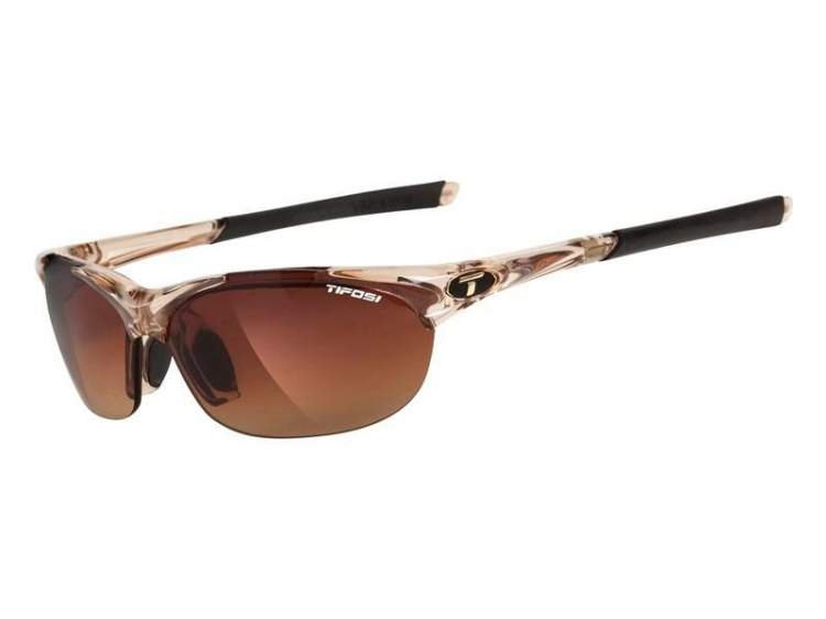 Okulary TIFOSI WISP crystal brown (Brown Gradient, AC Red, Clear)