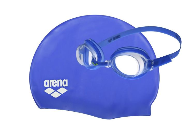 Okulary + czepek Arena Pool Set Jr